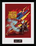 Justice League - Trio Collector-tryk