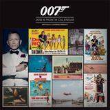 James Bond - 2018 Calendar Kalenders
