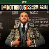 UFC: Conor McGregor - 2018 Calendar Calendari