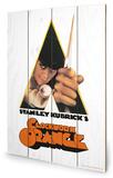A Clockwork Orange - Dagger Wood Sign