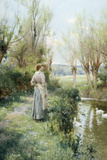 A Spring Morning by Alfred Augustus Glendening II Photographic Print by Fine Art Photographic