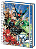 Justice League - United A5 Notebook Diario