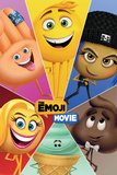 The Emoji Movie - Star Characters Póster