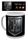 Justice League - Logos Becher