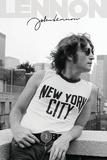 John Lennon - NYC Profile Kunstdrucke