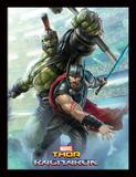 Thor Ragnarok - Thor And Hulk Collector-tryk