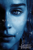 Game Of Thrones - Winter is Here - Daenerys Poster