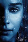 Game Of Thrones - Winter is Here - Daenerys Plakat