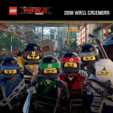 Lego Ninjago - 2018 Calendar Calendriers