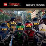 Lego Ninjago - 2018 Calendar Calendarios