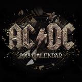 AC/DC - 2018 Calendar Calendriers
