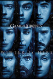 Game Of Thrones - Winter is Here Kunstdruck