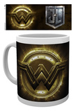 Justice League - Wonder Woman Logo Becher