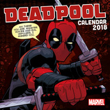 Deadpool - 2018 Calendar Calendriers