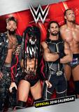 World Wrestling Men - 2018 A3 Calendar Calendriers