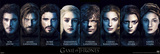 Game Of Thrones – Characters Prints