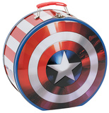 Marvel's Captain America - Shield Shaped Tin Lunch Box Lunch Box