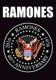 Ramones- 40Th Anniversary Logo Print
