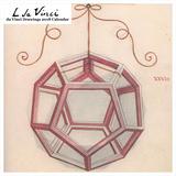 Leonardo da Vinci Drawings 2018 Square Calendar Calendars