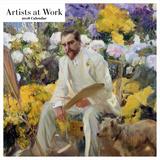 Artists at Work 2018 Square Calendar Calendars