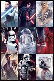 Star Wars: Episode VIII - Die letzten Jedi - Charaktere Kunstdrucke