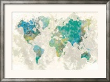 No Borders Framed Giclee Print by Stephane Fontaine
