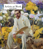 Artists at Work 2018 Desk Calendar Calendars