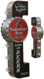 BUDWEISER BEER OFF THE WALL Light Up Sign