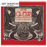Art Nouveau Graphics 2018 Square Calendar Calendars