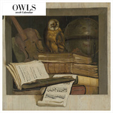 The Art of Owls 2018 Square Calendar Calendars