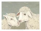 Sweet Lambs II Art by Jade Reynolds