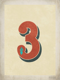 Vintage 3 Prints by Rebecca Peragine