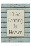 Farm Sentiment I Poster by Alonzo Saunders