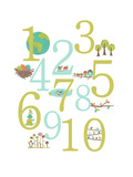 Number Posters by Rebecca Peragine