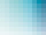 Aqua Rectangle Spectrum Prints by Rebecca Peragine