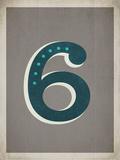 Vintage 6 Grey Prints by Rebecca Peragine