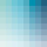 Aqua Square Spectrum Poster by Rebecca Peragine
