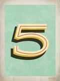 Vintage 5 Prints by Rebecca Peragine