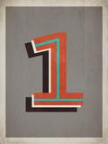 Vintage 1 Grey Posters by Rebecca Peragine