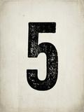 Distressed 5 Posters by Rebecca Peragine