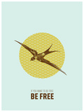 Be free (Sé libre) 2 Láminas por Rebecca Peragine