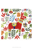 Festive Otomi II Prints by Grace Popp