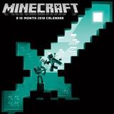 Minecraft Wall - 2018 Calendar Calendars