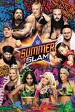WWE Summer Slam 2017 Poster