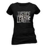 Juniors: Justice League film - logo T-Shirts