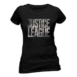 La Liga de la Justicia - Logo (camiseta ajustada) Camisetas