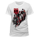 Justice League Movie - Distortion T-shirts