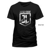 Justice League Movie - Foil Logo T-Shirt