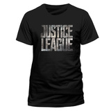 Justice League Movie - Logo T-Shirt