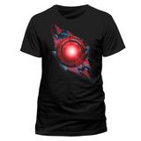 La Liga de la Justicia - Símbolo de Cyborg T-Shirts